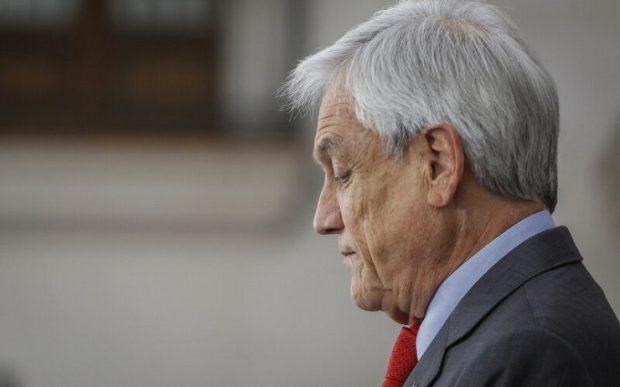 """En la presentación ante la Corte Penal Internacional señalan que el Presidente de la República, Sebastián Piñera, es responsable de violaciones de derechos humanos """"generalizadas y sistemáticas"""" en el marco del estallido social. Foto: Agencia UNO.,"""
