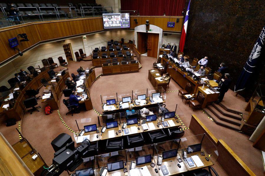 sesion senado