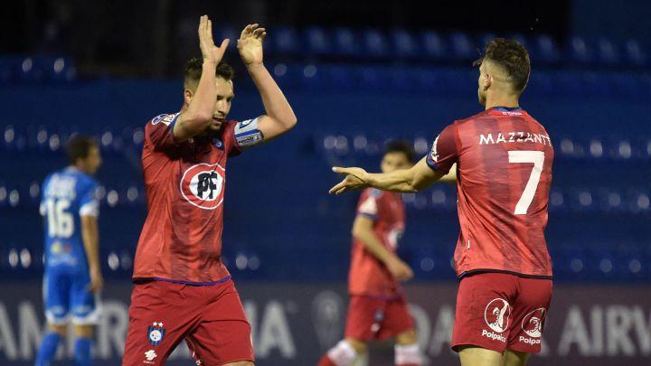 La victoria de Huachipato permita que siga como líder de su grupo en la Copa Sudamericana.