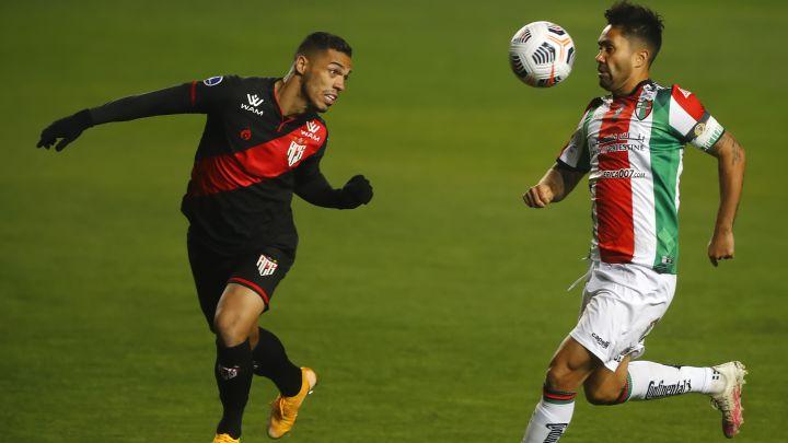 Palestino no pudo ante Goianiense y quedó fuera de la Sudamericana.