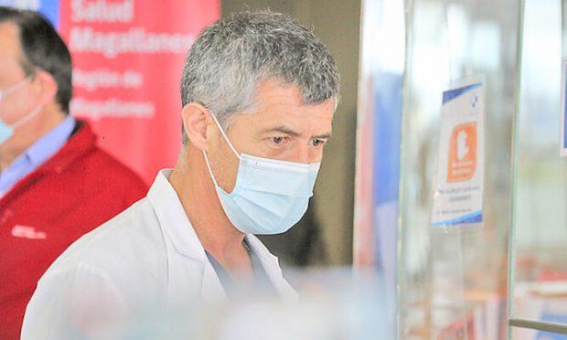 José Antonio Sepúlveda, presidente del Colegio Medico de Punta Arenas. FOTO: prensa austral