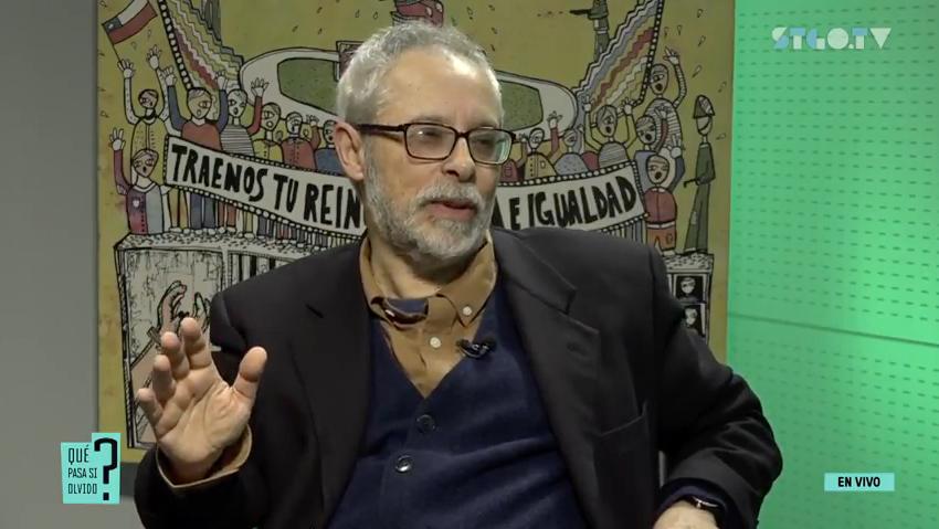 Jaime Lorca, presidente del Centro de Formación, Memoria y Futuro.