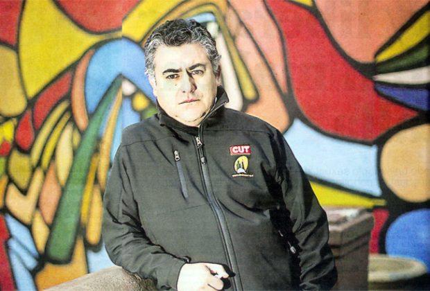 Nolberto Díaz, ex secretario general y consejero nacioal electo de la CUT. FOTO : Sindicato de ENAP