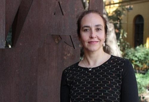 La senadora universitaria y académica de la Facultad de Arquitectura de la Universidad de Chile, Rebeca Silva.