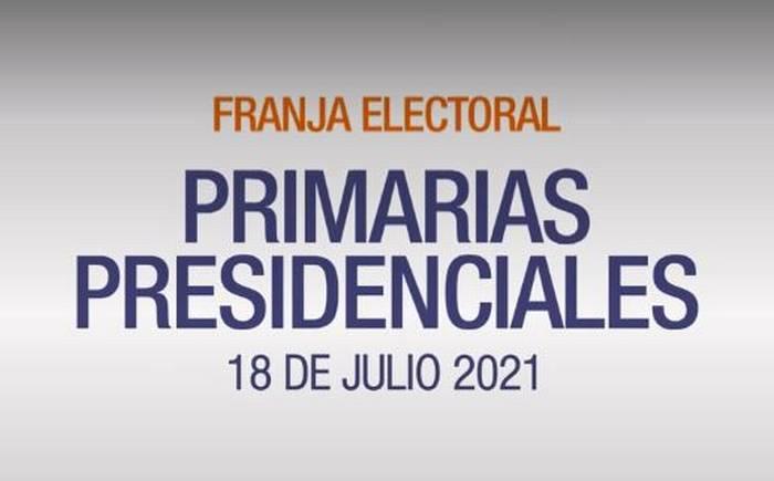 Elecciones Primarias 2021_ Comienza franja electoral de candidatos de Chile Vamos y Apruebo Dignidad