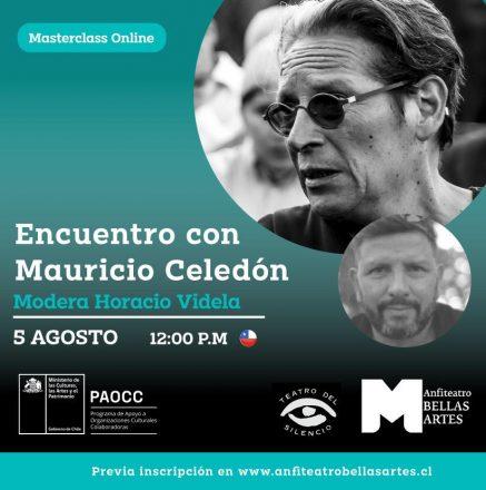 Encuentro con Mauricio Celedon - Anfiteatro Bellas Artes - 08 05 2021