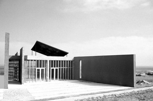 Capilla Casa de Retiro Fundación Alonso Ovalle, Antofagasta, 1991. Archivo GKL..