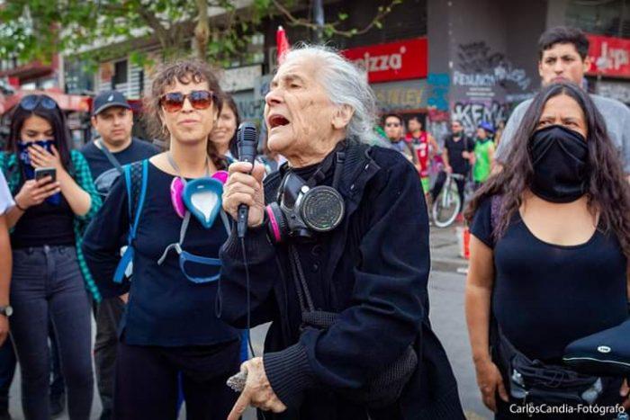 Luisa Toledo- foto Carlos Candia