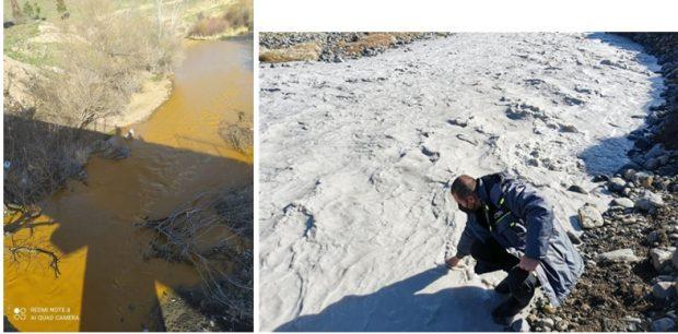 Contaminación por residuos minerales del río Okhchuchai en la región de Zangilan (Azerbaiyán)