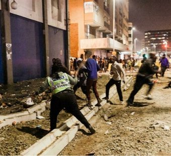 protestas sudafrica