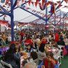 Santiago, 18 de septiembre 2019 Capitalinos celebran las fiestas patrias en el Parque Ohiggins.  Dragomir Yankovic/Aton Chile