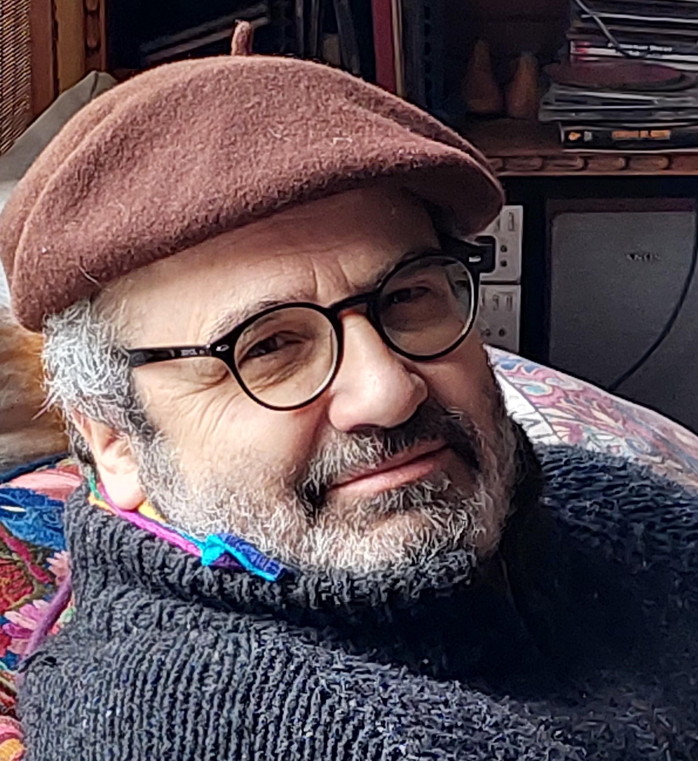 El escritor Ignacio Vidaurrazaga.