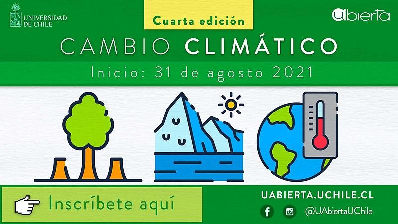 El curso Cambio Climático tiene como objetivo entender en qué consiste este fenómeno, sus bases científicas y cómo la sociedad puede actuar y adaptarse a este nuevo contexto para minimizar su impacto.