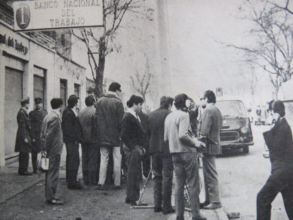 La prensa de la época dio amplia cobertura a los asaltos protagonizados por el MIR