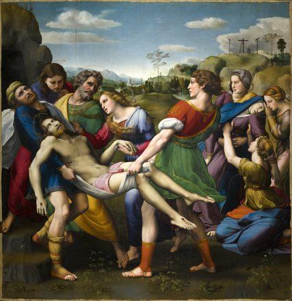 MR_The Deposition of Christ (Pala Baglioni)_Raphael Sanzio_© MiC - Galleria Borghese - photo Alberto Novelli