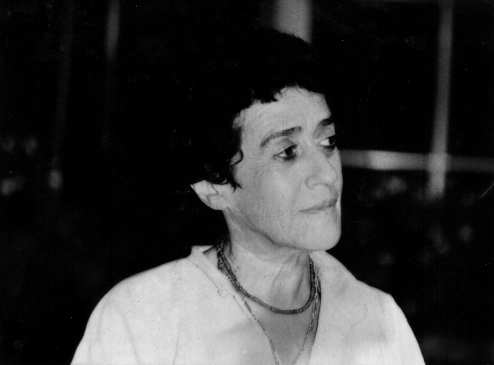 Isidora Aguirre 1- Decada 70 (c) Archivo de Isidora Aguirre-Baja