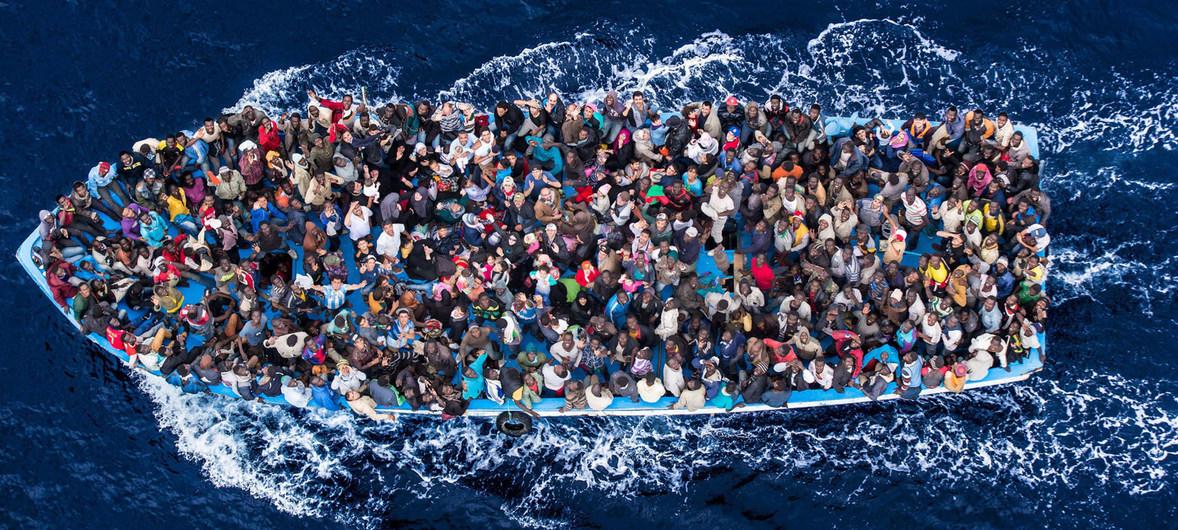 migrantes mediterraneo